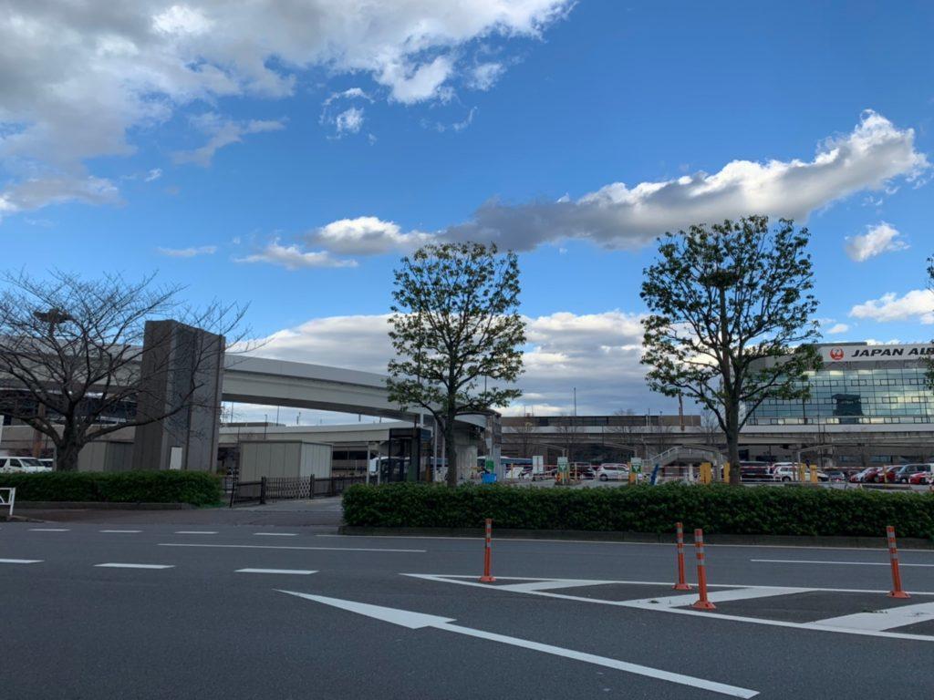 成田空港P3駐車場の入り口